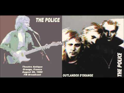 "The Police-  Orange, ""Théâtre Antique d'Orange"",  20-08-1980, France (Full Audio Show)"