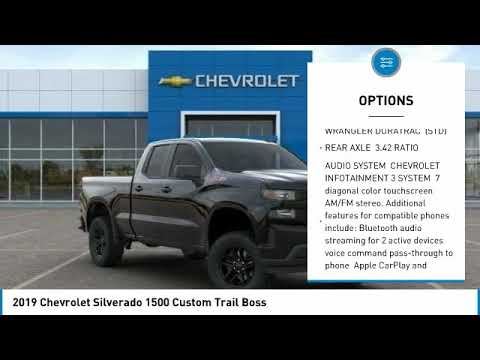 2019 Chevrolet Silverado 1500 2019 Chevrolet Silverado 1500 Custom Trail Boss FOR SALE in Post Falls