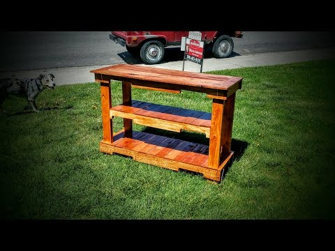 DIY Pinterest Pallet Wood Projects! - My Uses For Pallet Wood!