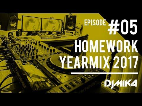 Dj Mika - Homework Mix #005   YEARMIX 2017   2017.12.29.