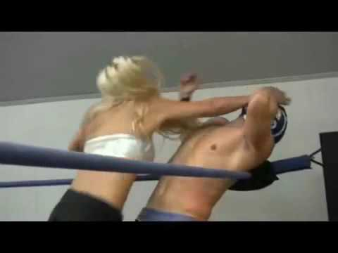 Sexy mixed wrestling videos