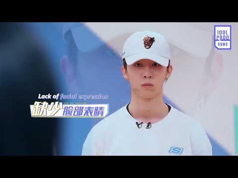[ENG] 180209 Idol Producer EP 4 Preview: Zhou Jieqiong Facial Expression Class