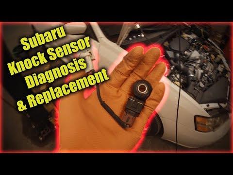 Subaru Knock Sensor Diagnosis and Replacement