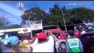 Ciudadano desmaya a un  policía de Nicaragua