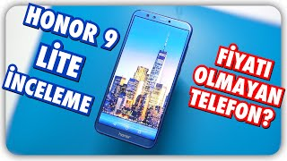 Honor 9 Lite nceleme Fiyat Olmayan Telefon Bu nasl i