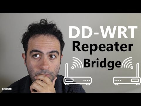 How To Setup DD-WRT Repeater Bridge (Extend Your WiFi Using An Old Router)