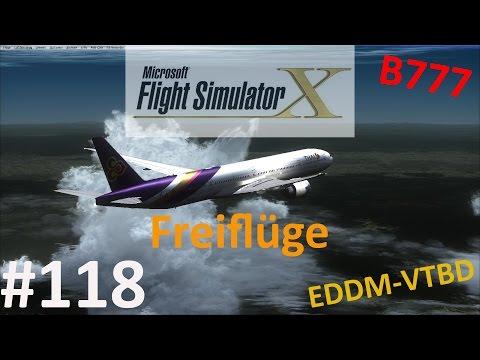 FSX Freiflüge #118 | Flug 26 EDDM-VTBD Teil 3/4 | bester Approach EVER [HD|German]