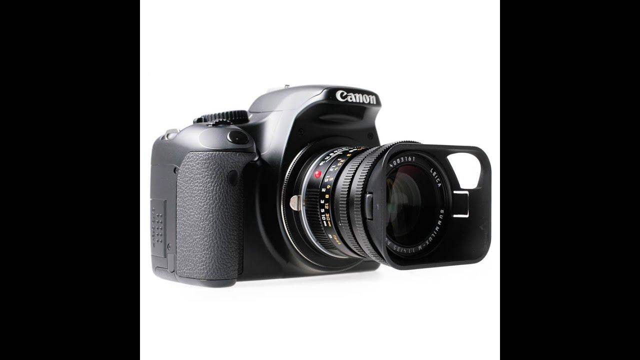 51e330d4523f Quenox Makroadapter Leica M-Objektiv - Canon EOS #eycquenox - YouTube