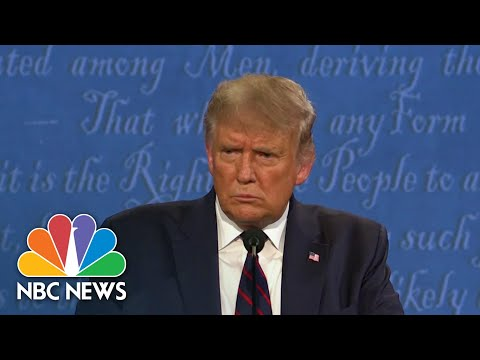 Trump Under Fire For Not Denouncing White Supremacists During Debate | NBC Nightly News