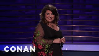 Jenny Zigrino Has Noticed Some Dating App Trends - CONAN on TBS