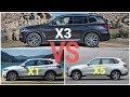 AMAZING BMW X3 2018 VS X5 Comparison There Is a Real Difference