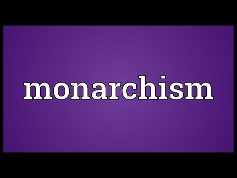 Header of monarchism