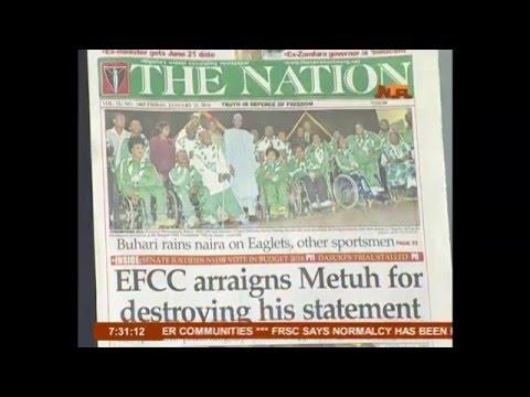 NTA Network Friday's Good Morning Nigeria 22/06/2016
