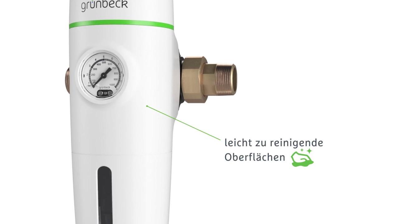 Grünbeck Filterbaureihe Pureliq Reinheit Erleben