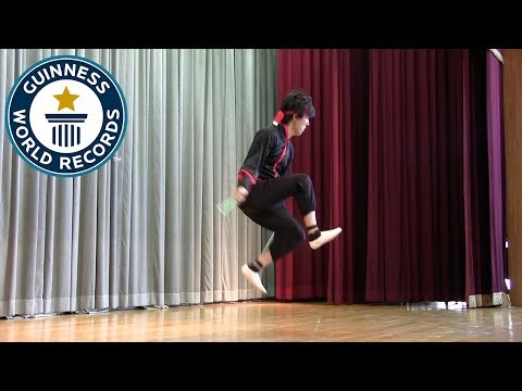 Most mamba tricks while skipping forwards in 30 seconds - Guinness World Records