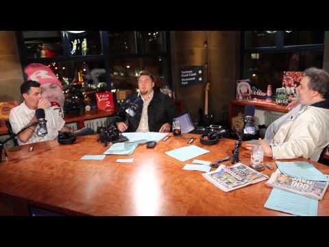 Jon, Artie, and Adam Carolla talk behind the scene Raiders camp.