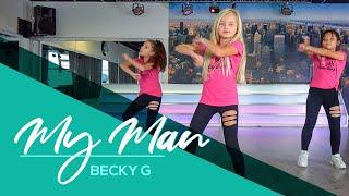 Фото My Man - Becky G - Easy Kids Dance Video - Warming-up - Choreography - Baile - Coreo