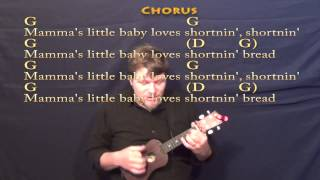 Shortnin Bread - Ukulele Cover Lesson with Chords/Lyrics