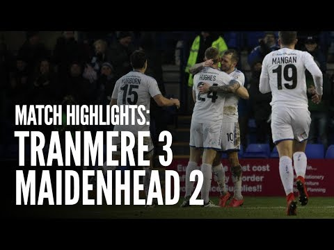 Match Highlights | Tranmere Rovers 3 - 2 Maidenhead