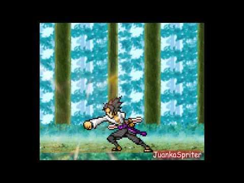 Naruto Vs Sasuke [Sprite]