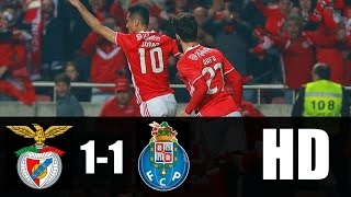 Benfica vs Porto 1-1 RESUMEN GOLES 2017 HD