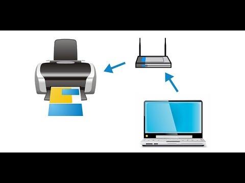Как настроить принтер через вай фай на ноутбук
