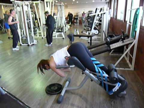 Exercice De Musculation Des Lombaires Extensions Au Banc Lombaire