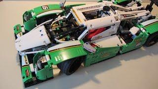 Лего Техник Гоночный автомобиль 42039 - Больше стола.