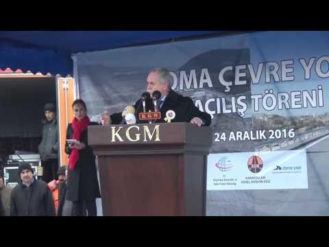 Soma Çevre Yolu Açılışı Ak Parti...