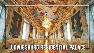 INSIDE the LUDWIGSBURG RESIDENTIAL PALACE   GERMANY
