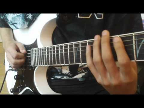 John Petrucci - Glasgow Kiss (cover)