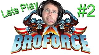 "BROFORCE Gameplay [Part 2] - I PITY THE FOOL | Broforce World Campaign ""Freedom Update"""