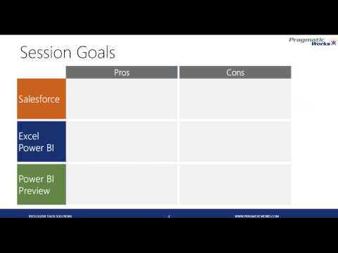 Anthony Martin -  Building Dashboards with Your SalesForce Data