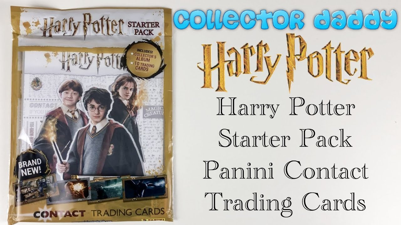 6 Packets Of Harry Potter Trading Cards Paninii