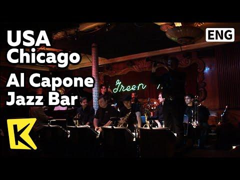 【K】USA Travel-Chicago[미국 여행-시카고]마피아 알 카포네 단골 재즈 클럽/Al Capone Jazz Bar/Mafia/Green mill