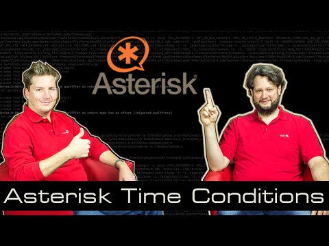 Asterisk Tutorials 14 - Time Conditions [english]