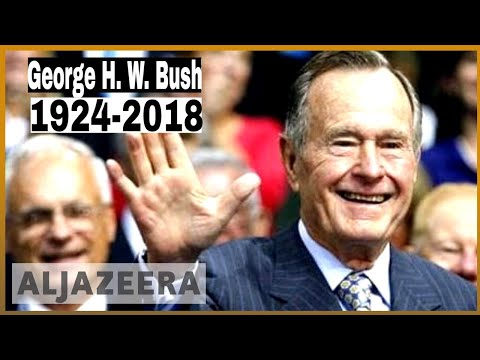 🇺🇸Former US President George HW Bush dead at 94 l Al Jazeera