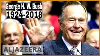 🇺🇸Former US President George HW Bush dead at 94 l Al Jazeera English