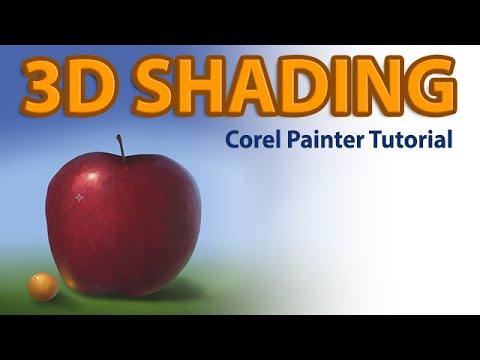 Realistic 3D Shading (Corel Painter Tutorial)