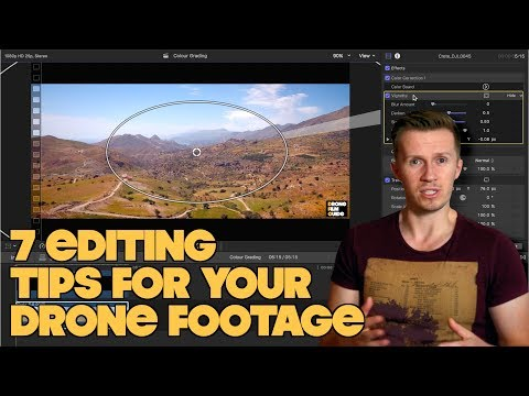 7 Editing Tips To TRANSFORM Your Cinematic DRONE Footage
