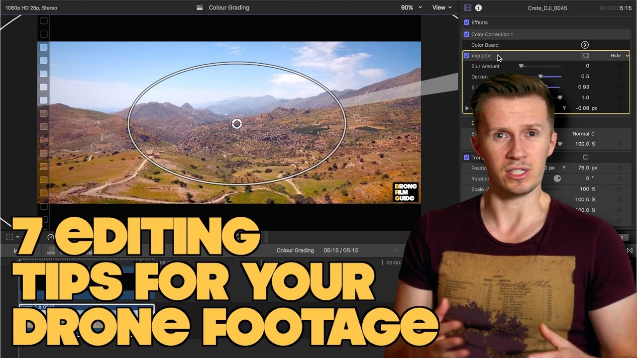 Download 7 Editing Tips To TRANSFORM Your Cinematic DRONE Footage!