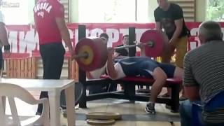 Igor Golushkin - Weightlifter dies in a power lifting competition