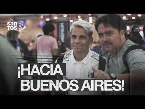 ¡HOLA, BUENOS AIRES!: OS BASTIDORES DA VIAGEM DO SANTOS PARA A LIBERTADORES
