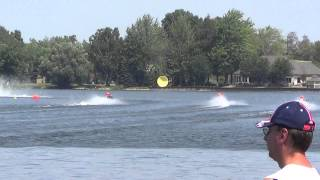 D-Stock Runabout Finals Heat 2 : 2012 APBA Stock and J-Class National Championship