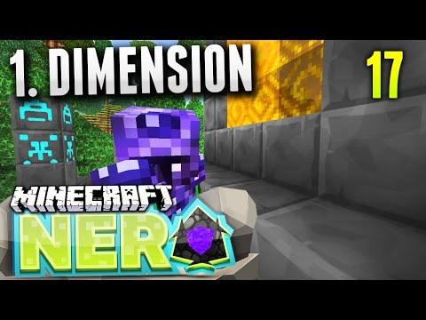 MEINE 1. DIMENSION! - Minecraft NERO #16 [Deutsch/HD]