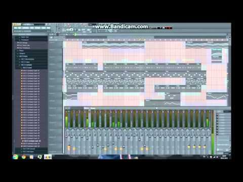 J' Reste Debout Sexion d' assaut FL Studio Instrumental