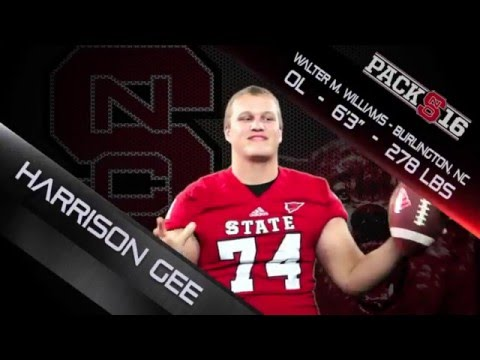 #Pack16 - Harrison Gee - OL - Walter M. Williams HS (NC)