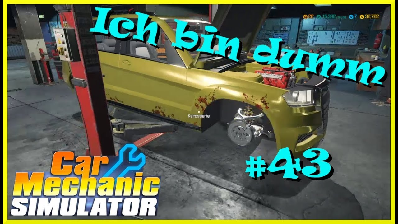Let´s Play Car Mechanic Simulator   Autowerkstatt Simulator #43 PS4 deutsch