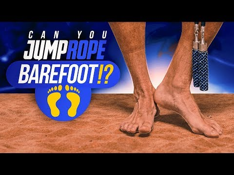 Can You Jump Rope Barefoot?