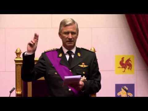 Raw: New Belgian King Sworn In